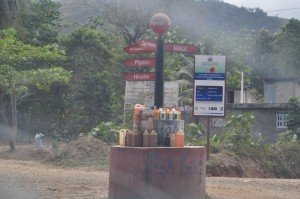 Haiti gas station