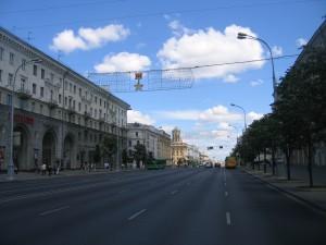 Belarus road