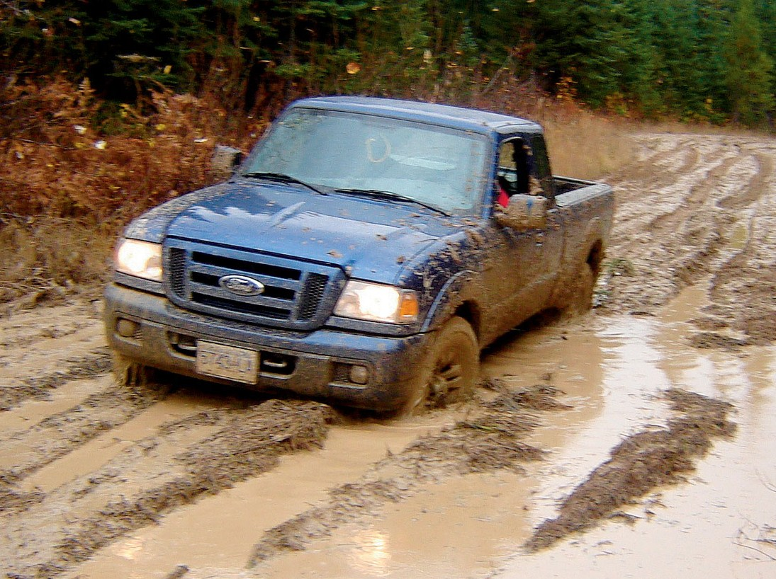Driving in Snow , Mud , Sand , Water and ...